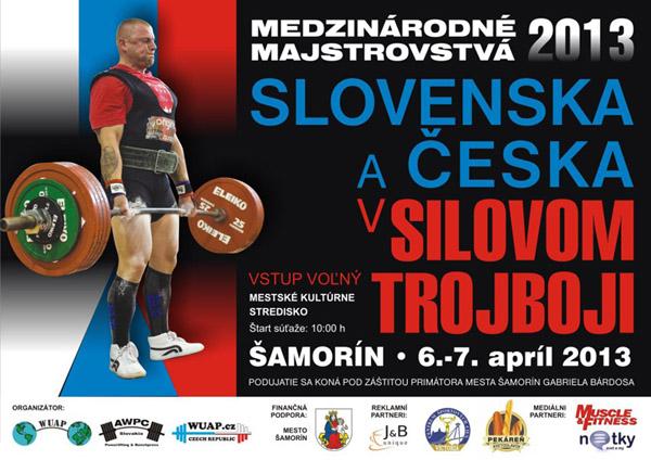 Nemzetközi erőemelő verseny Somorján