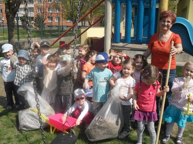 Gyerekek a tisztább környezetért