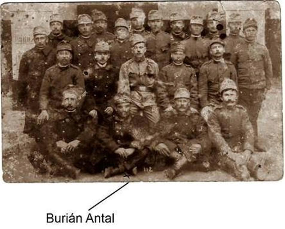 Egy szemeti címre küldött I. világháborús képeslap