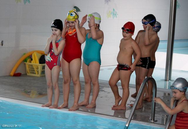 Sikeres az úszásoktatás a Duna utcai oviban