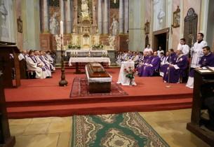 Barcsek Sándor Esperes Úr temetése