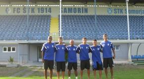 Együttműködési szerződést írt alá a Fluminensével az STK Somorja  csapata