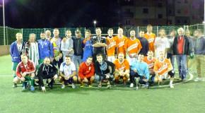 A Samaria Miniliga válogatottja nyerte az I. Szent István Napi Csemadok Focitornát