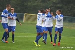 10 Thiago Saturnia Andre (9) gólja utáni öröm