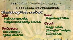 Szépen szól a magyar nóta avagy felső-csallóközi nótaénekesek találkozója Sárosfán