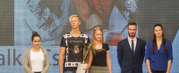 Somorja legjobb sportolói: 1. Zalka Csaba, 2. Bittera Kitti, 3. Végh Dávid