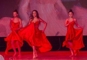 3 A somorjai  La Suerte táncegyüttes még forróbbá tette a hangulatot az eredményhirdetés előtt