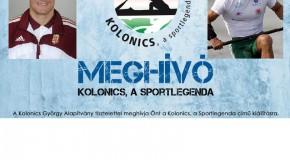 Kolonics, a sportlegenda