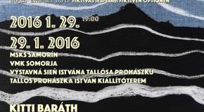 Fiktív opció kiállítás a Tallós Prochászka István kiállítóteremben