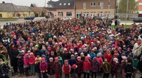 Flashmob videó: A Költészet Napja Somorján