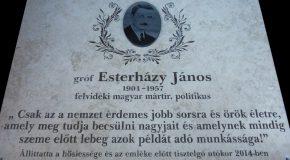A Via Nova ICS somorjai alapszervezete is csatlakozik az Esterházy-emlékévhez