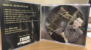 Megjelent Mezei Attila első CD-je, melyet tegnap a Moziban mutatott be