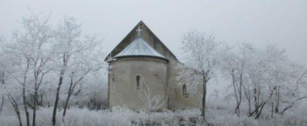 Sámoti templom télen