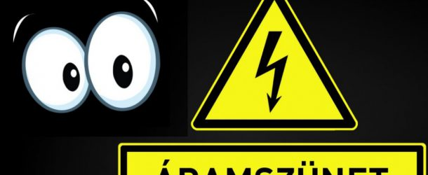 2017. január 27 – Az áramszünet a következő utcákat érinti