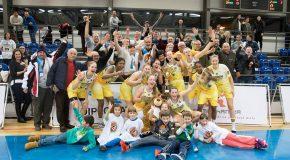 A Slama Angival és Orosz Szabival felálló Pöstyéni Sirályok nyerték a szlovák női kosárlabda kupát