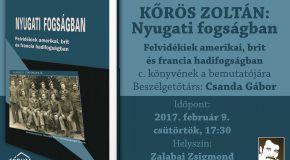 Könyvbemutató: Kőrös Zoltán: Nyugati fogságban