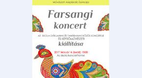 Farsangi koncert a művészeti alapiskolában