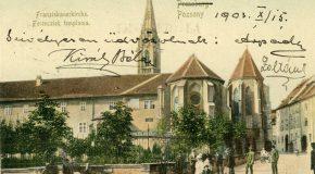 Hétszázhúsz éve szentelték fel  a pozsonyi ferences templomot