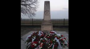 Tisztelgés a márciusi forradalom hősei előtt