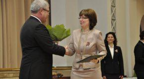 Magyar Arany Érdemkeresztet kapott Földváry Terézia, Sárosfa polgármestere
