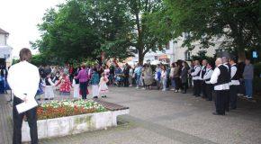 Somorja lakossága zuhogó esőben emlékezett a trianoni békediktátum 97. évfordulójára