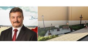 Berényi József is 500 euróval támogatja a kitelepítési emlékművet