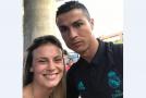 Gyöngyi találkozása a Real Madrid sztárjaival