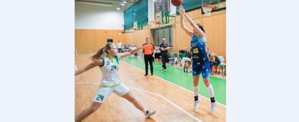 Lelkes Barbi és Andrássy Eszti első pontjai a női I. kosárlabdaligában