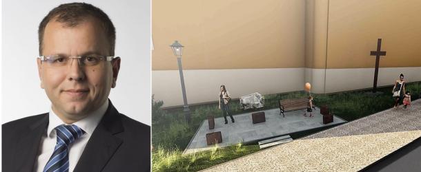 Őry Péter is 500 euróval támogatja a kitelepítési emlékművet