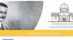 Bemutatkozik az Esterházy János zarándokközpont