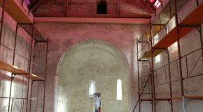 Megújult a sámoti Antióchiai Szent Margit-kápolna tetőszerkezete