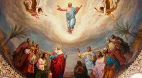 Napi evangélium – 2018. május 13. – Vasárnap, Urunk mennybemenetele