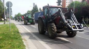 Traktoros megmozdulás Somorján